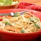 Chicken & Broccoli Alfredo with Fettuccine