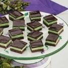 Fudgy Mint Squares