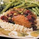Quick Cranberry Pork Chops