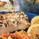 Basil Walnut Fish Fillets