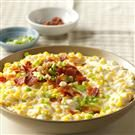Slow Cooker Creamed Corn with Bacon