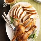 Roasted Sage Turkey with Vegetable Gravy