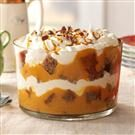 Gingerbread & Pumpkin Cream Trifle