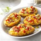 Fiesta Egg & Potato Boats