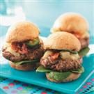 Hawaiian-Style Beef Sliders
