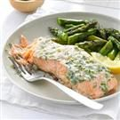 Creamy Herb-Topped Salmon