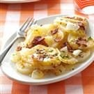 Grilled Triple-Cheese Potatoes