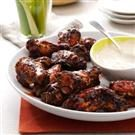 Grilled Wings with Zing