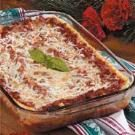 Swiss Cheese Lasagna