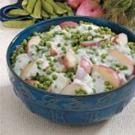 Creamy Potatoes 'n' Peas