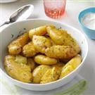 Braised Potatoes with Dill