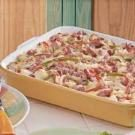 Colorful Ham Strata