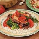 Vegetable Steak Stir-Fry