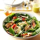 Grilled Chicken Salad with Honey-Jalapeno Vinaigrette