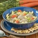 Contest-Winning Turkey Meatball Soup