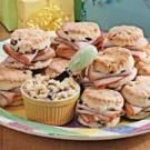Cranberry Biscuit Turkey Sandwiches
