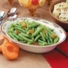 Apricot-Glazed Green Beans