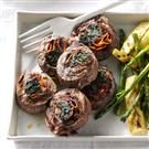 Spinach Steak Pinwheels
