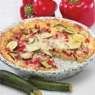 Vegetable Potato Quiche
