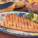 Maple-Glazed Grilled Salmon