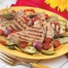 Swordfish with Sauteed Vegetables