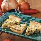 Chicken Spinach Quiche