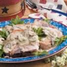 Pork Chops in Mustard Cream Sauce