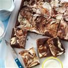 Cream Cheese Swirl Brownies