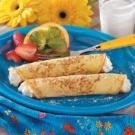 Sweet Corn Blintzes