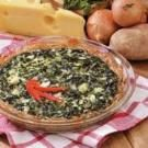 Potato Spinach Pie