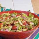 Guacamole Tossed Salad