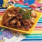 Peanutty Chicken Wings
