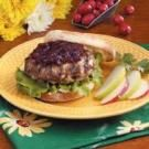 Cranberry Turkey Burgers