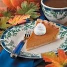 Baked Maple Pumpkin Pie