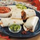 Baked Pork Chimichangas