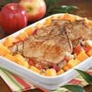 Winter Pork Chop Bake
