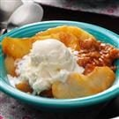 Butterscotch Apple Crisp