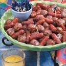 Cranberry Meatballs and Sausage