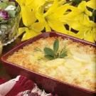 Creamy Swiss Scalloped Potatoes