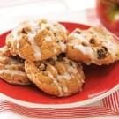Vanilla-Glazed Apple Cookies