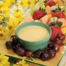 Contest-Winning Orange Fruit Dip