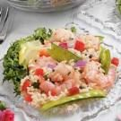 Sesame Shrimp Rice Salad