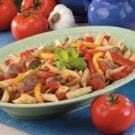Italian Sausage N Peppers Supper