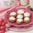 Frosted Rhubarb Cookies
