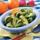 Quick Broccoli with Orange Sauce