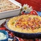 Hash Brown Ham and Cheese Quiche