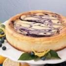 Contest-Winning Blueberry Swirl Cheesecake
