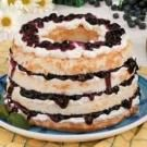 Blueberry Angel Torte