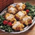 Pork Chops with Corn Dressing