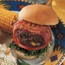 Stuffed Bacon Burgers